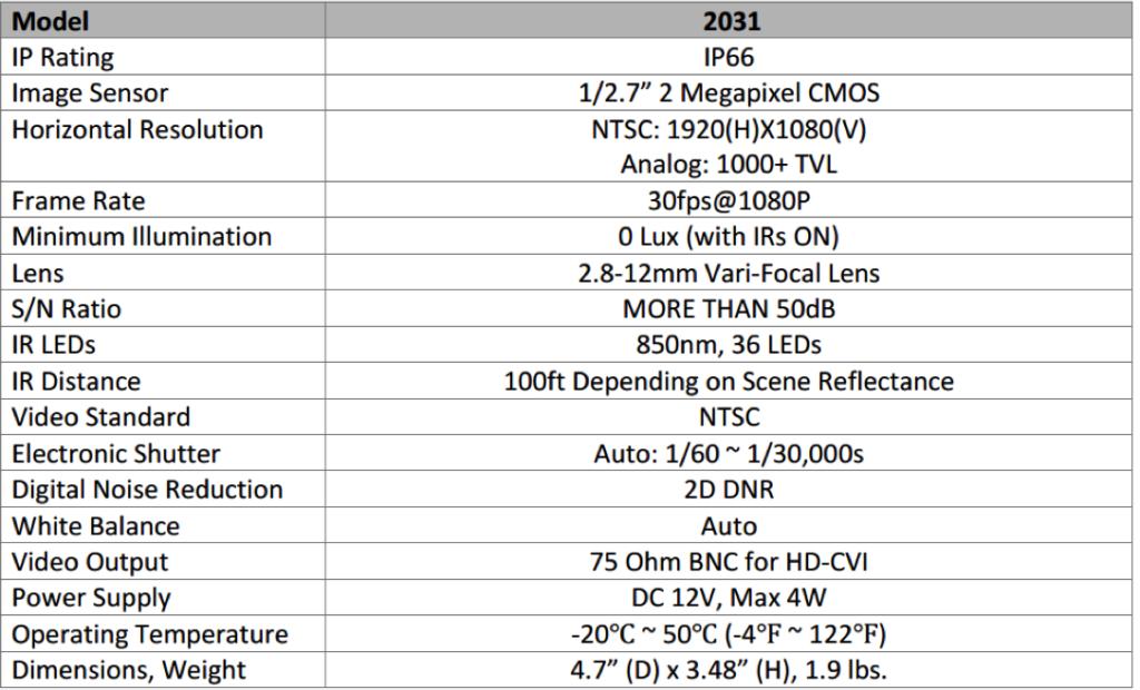 2031-spec-sheet
