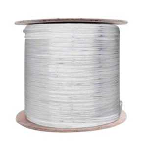 Siamese RG59 Cable 1000' White