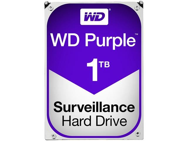 Western Digital Purple Surveillance Hard Drive 1TB