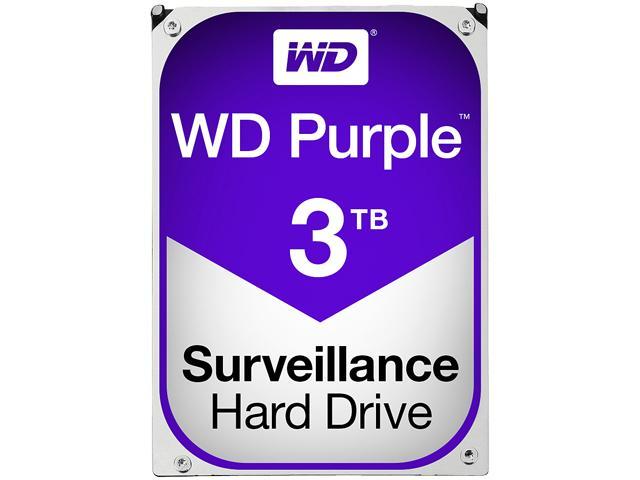 Western Digital Purple Surveillance Hard Drive 3TB