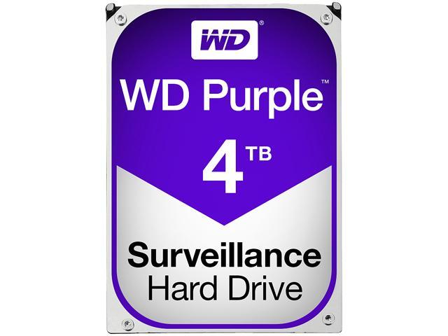 Western Digital Purple Surveillance Hard Drive 4TB