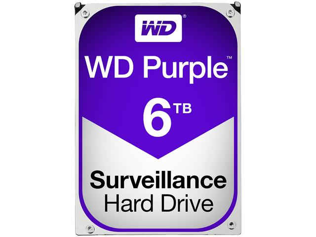 Western Digital Purple Surveillance Hard Drive 6TB