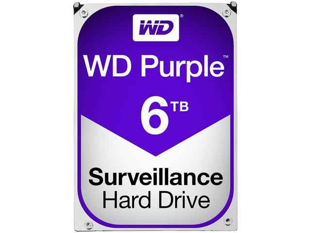 Western Digital Purple Surveillance Hard Drive 6TB